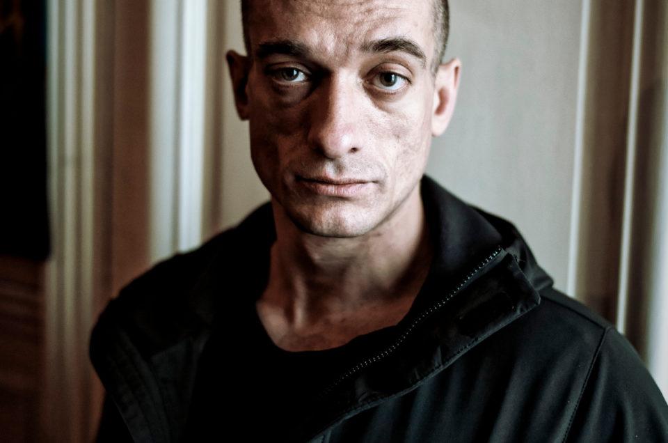 Piotr Pavlenski dans Le Monde