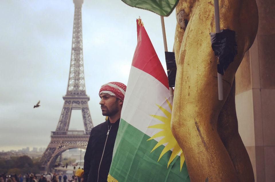 Rassemblement en soutien aux Kurdes du Rojava