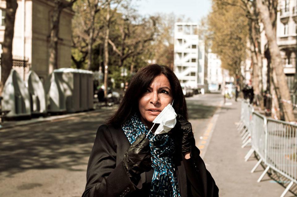 Reportage avec Anne Hidalgo, Maire de paris, dans l'OBS