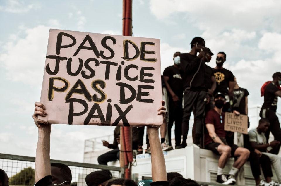 Rassemblement contre les violences policières à Paris, le 2 juin 2020