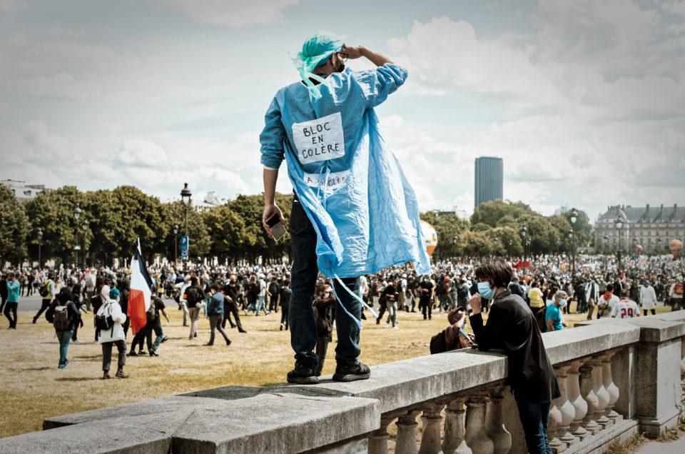 Manifestation du personnel soignant le 16 juin à Paris