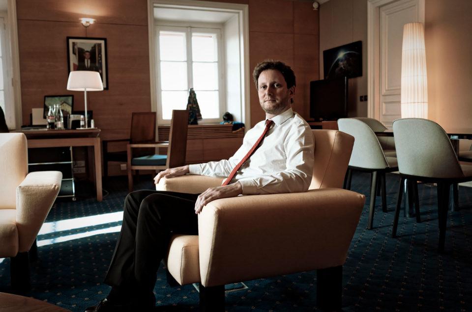 Portrait de Clément Beaune au Quai d'Orsay pour Der Spiegel