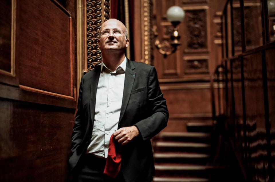 Portrait de Bernard Jomier, sénateur, pour Le Monde