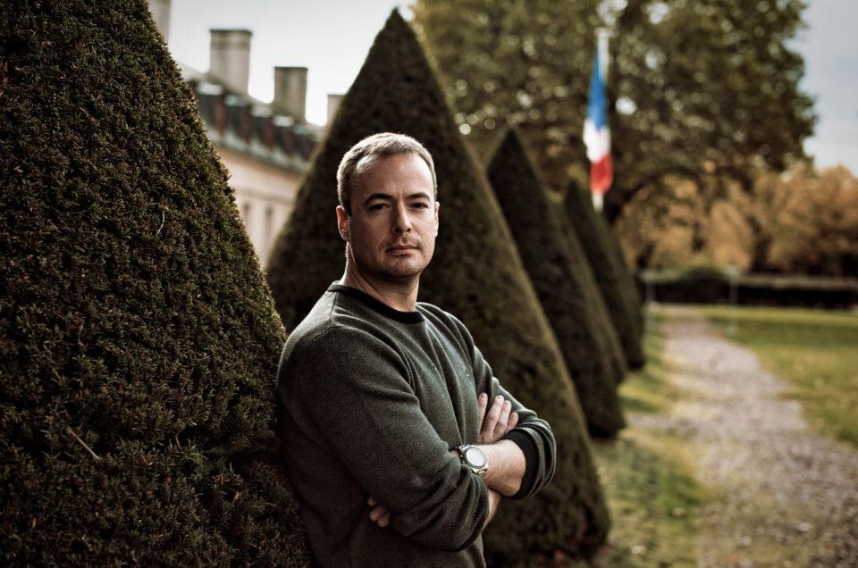 Portrait de Pierre Malinowski pour Le Monde