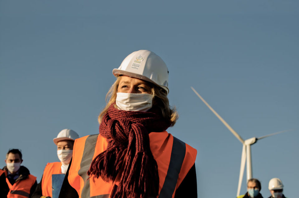 Barbara Pompili, Ministre de l'Environnement pour Der Spiegel