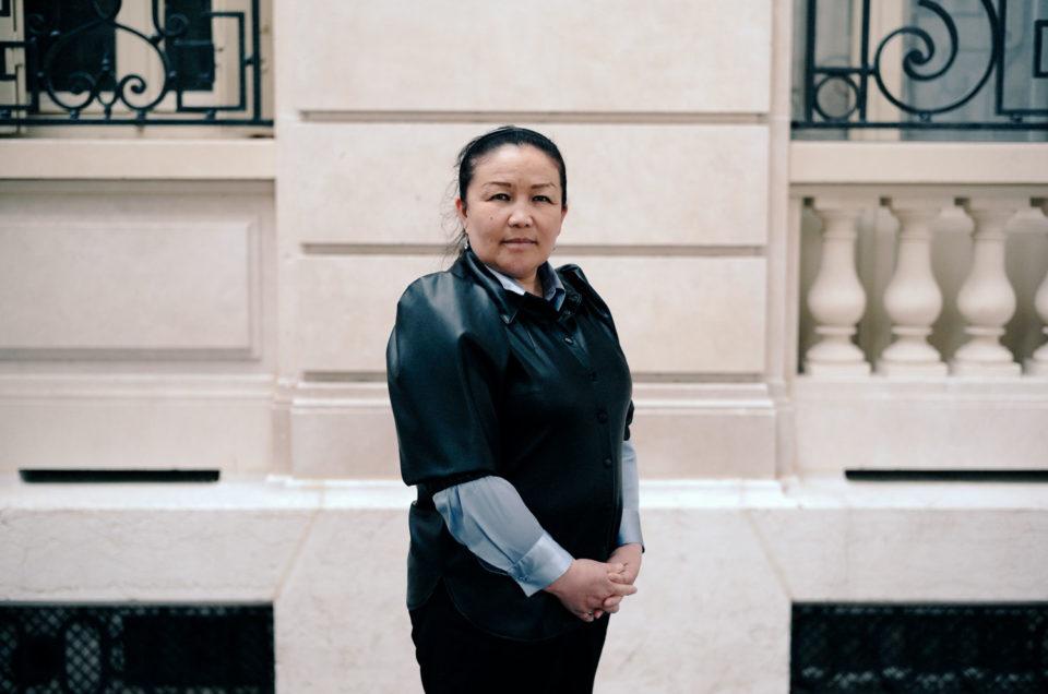 Portrait de Sayragul Sauytbay pour Le Monde