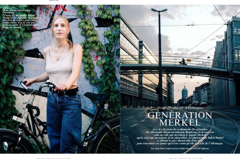 Portfolio Die Deutschen (les Allemands) dans le Figaro Magazine